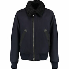 Tom Ford Shearling Down Padded JACKET Coat IT56 XXL Navy New