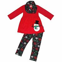 Girls Christmas Snowman 3 Piece Winter Outfit Outfit
