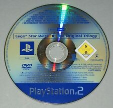 Lego Star Wars II The Original Trilogy Promo Disc Only - Playstation 2 PS2 PAL