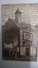 Le Vieux-Liège Judaica Old Postcard Jewish Synagogue 1905 Belgium Rare Israel