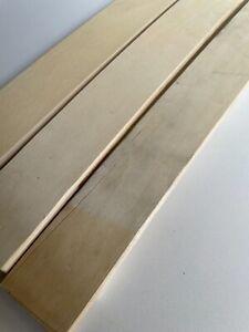 Lot de 3 Lattes modifiées pour Sommier de Lit -  68x4.8x0,8 Cm