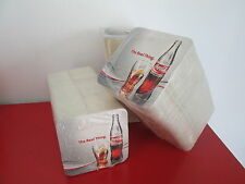 LOT DE 100 SOUS BOCK SOUS VERRE COCA COLA THE REAL THING. NEUF RARE !!!
