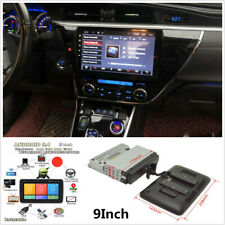 9Inch Android 8.1 Rotatable Car Stereo Radio GPS Wifi Mirror Link Touch Screen