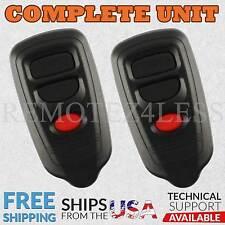 2 For 1998 1999 2000 2001 2002 2003 2004 Isuzu Rodeo Sport Keyless Entry Remote
