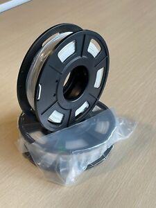 8 x 200g 1.6kg Creality PLA 3D Printer Filament 1.75mm WHITE