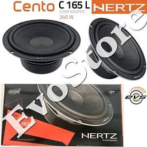 Woofer Hertz C 165L 240W Coppia Casse Altoparlanti 165mm 16,5cm Linea Cento New