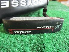 "Odyssey Metal-X #1 35"" Heel-Shafted right hand Putter With Head Cover"