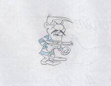 Lucky Luke Joe Dalton KEY original production cel Drawing Hanna-Barbera 1983 D7