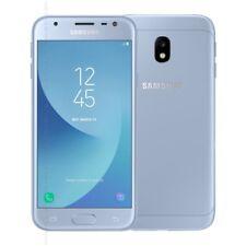 NUOVO SAMSUNG GALAXY J3 16GB 4G LTE (2017model) ARGENTO BLU STOCK GB sbloccare
