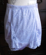 446747b62c13a NWOT LILAC WITH LILAC LACE RHONDA SHEAR GIRDLE TAP PANTS BLOOMERS SIZE 1XL