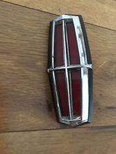 Vintage Lincoln Mark IV Mark V Trunk Lock Cover Emblem FORD DOLB-6543600-A