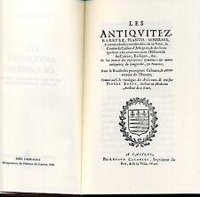 LES ANTIQUITES DE CASTRES. PIERRE BOREL. MINKOFF REPRINT 1973.