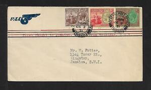 TRINIDAD TO JAMAICA AIR MAIL COVER 1931