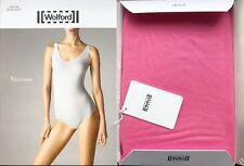 WOLFORD VISCOSE STRING BODY Bodysuit in Peony Size:S  R:$200 New Boxed & w/Tags