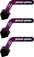 Pistol Picks 0.50mm Thin ergonomic guitar pick pistol-picks
