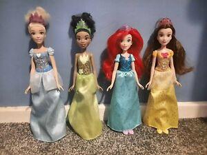 Disney Princess Dolls Bundle Hasbro 2018 Cinderella Arial Tiana Belle