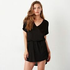 Polyester Sleeveless Casual Shirt Dresses