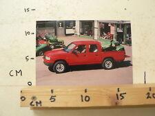 AF175-PHOTO FACTORY ? MAZDA ? PICK-UP PICKUP CAR AUTO  4WD