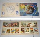 Album CIELO E TERRA Casa Editrice B.E.A. 1956 COMPLETO figurine Stickers BEA