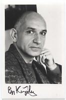 Ben Kingsley Signed Photo Autographed Vintage AUTO Signature Actor
