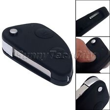 2 Button Flip Entry Remote Key Fob Case Shell Blade For Alfa Romeo 147 156 GT