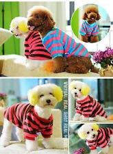 Pet Winter Clothes Puppy Coat Dress Sweater Apparel Dog Cat Vest yellow brown L