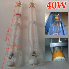 40w CO2 Laser Tube si adatta a LASER Engraver TAGLIO MACCHINA DELL'ACQUA Sistema di raffreddamento 72cm