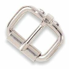 Roller Buckle 1-1/2 inch (38 mm) Nickel Plated (1518-02) White Bear Leather
