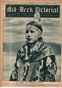 1930 NY Times Mid-Week Pictorial August 30 - Pottawatomie Indian; Bobby Jones