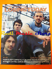 LOSINGTODAY Magazine  01/2004 +cd Yuppie Flu Blonde Redhead Lali Puna Nitrada