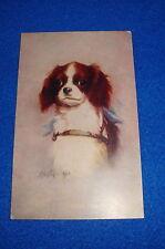 Artist Signed Kenyon Dog Postcard Titled Princess Unused