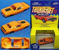 1999 Jl T-Jet Slot Car Clone Body Oran Dodge Challenger