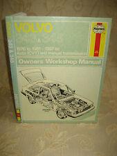 Vintage Book Of Volvo 343 & 345 Owners Workshop Manual - 1982