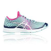 Asics Gel Hyper Tri 3 Womens Blue Cushioned Running Training Shoes Trainers