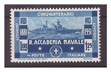REGNO 1931 - ACCADEMIA NAVALE LIVORNO   Lire 1,25  NUOVO *