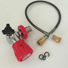 Pcp Paintball 4500psi Fill Station Quick Connector with Hose