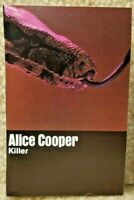 Vintage 1971 Cassette Tape Alice Cooper Killer Warner Bros Records