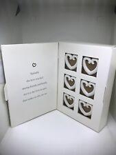 Margearet Furlong Love Tokens box of 6 Party Favors Napkin Rings Gift Decor