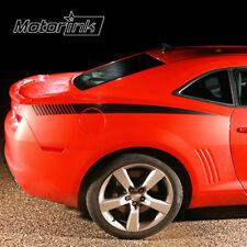 2010 2011 2012 2013  Chevy Camaro Quarter Panel Rear Strobe Side Stripes decals