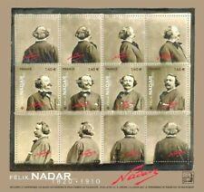 France 2020 Bloc Félix Nadar 1820 - 1910 4V MNH / Neuf**