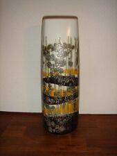 Tall square Fajance vase Ivan Weiss Royal Copenhagen 1st # 963-3764