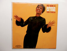 ERMA FRANKLIN .. HER NAME IS ERMA .... LP on EPIC Mono  LN 3824 ..  Arethas Sis