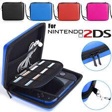 EVA Custodia Protezione Rigida Protettiva Case Cover Carry Bag per Nintendo 2DS