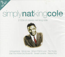 [BRAND NEW] 2CD: SIMPLY NAT KING COLE