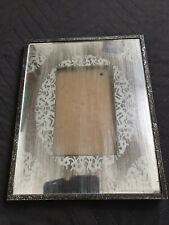 Vintage Photo Frame Rustic Style With Metal Cover