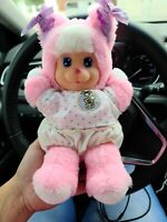 Vintage 1990 MATTEL Clothed Plush MAGIC NURSERY Kitty CAT Pink Stuffed Vinyl GUC
