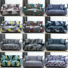 Geometric Modern Stretch Sofa Cover Elastic Sectional Couch Slipcover Protector