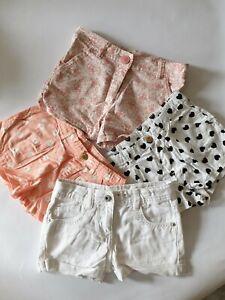 Girls Shorts 5-6 Years x4