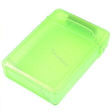 Green 3.5 Inch IDE SATA Hard Drive HDD Box Storage Case