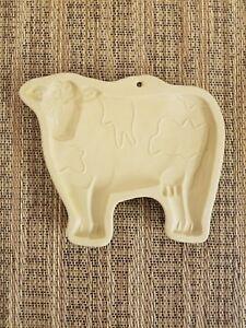 1986 Hill Design ~ Brown Bag Cookie Art ~ Vintage Cow Cookie Mold